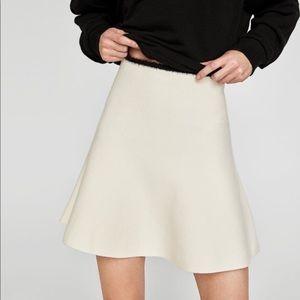 NWT Zara A line knit skirt